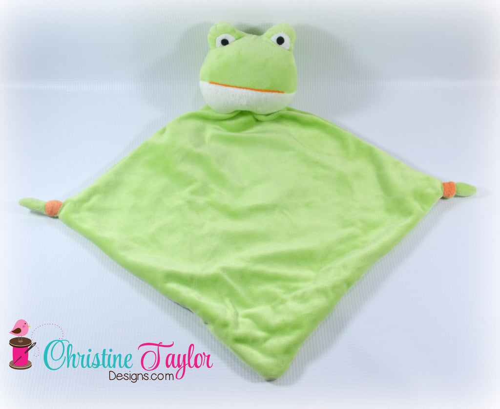 "Frog - 13"" Cuddle Blanket"