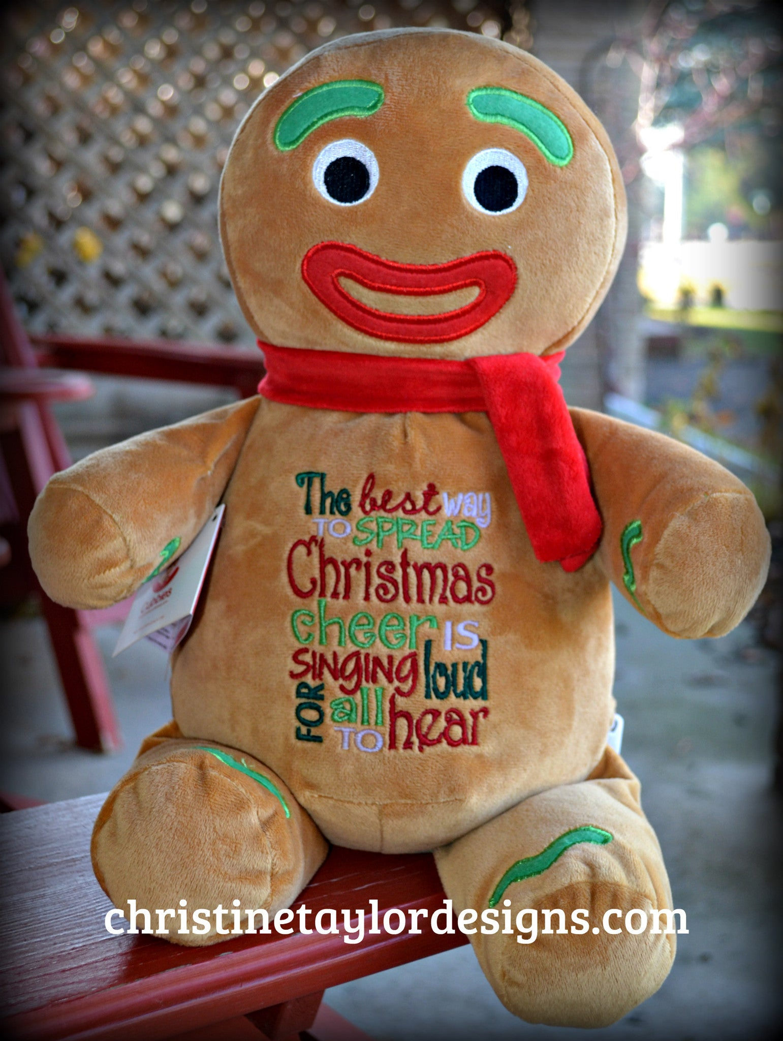 Holiday Gingerbread Man - Christine Taylor Designs