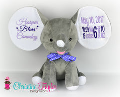 Dumble Elephant GREY - Christine Taylor Designs
