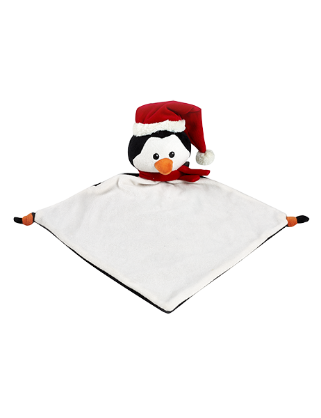 "Holiday Pengin - 13"" Cuddle Blanket"