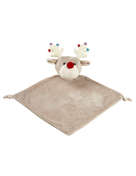 "Holiday Reindeer - 13"" Cuddle Blanket"