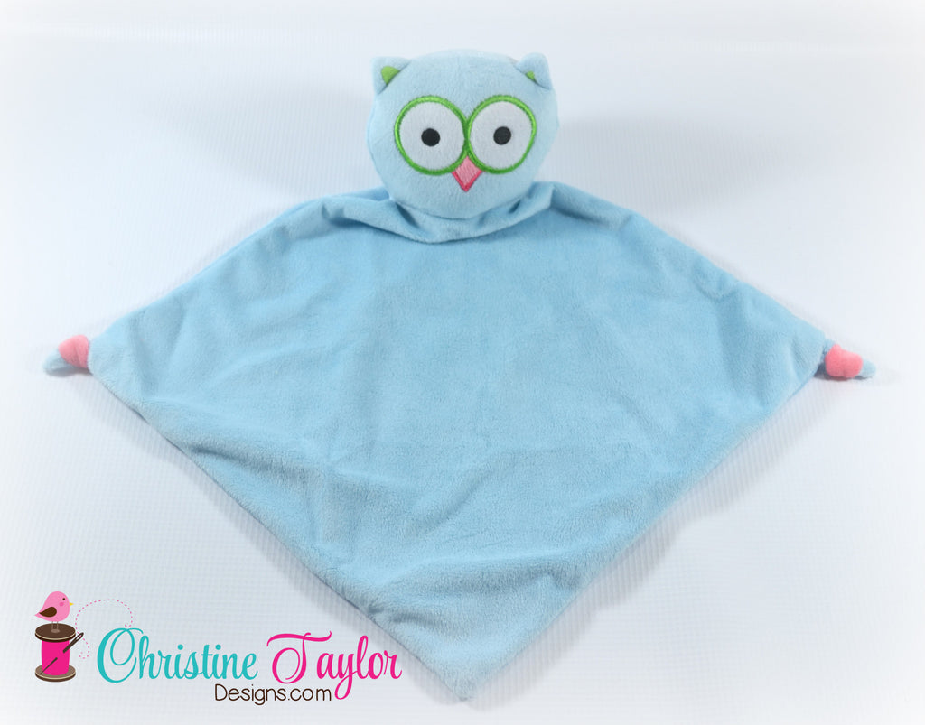 "Owl - 13"" Cuddle Blanket"