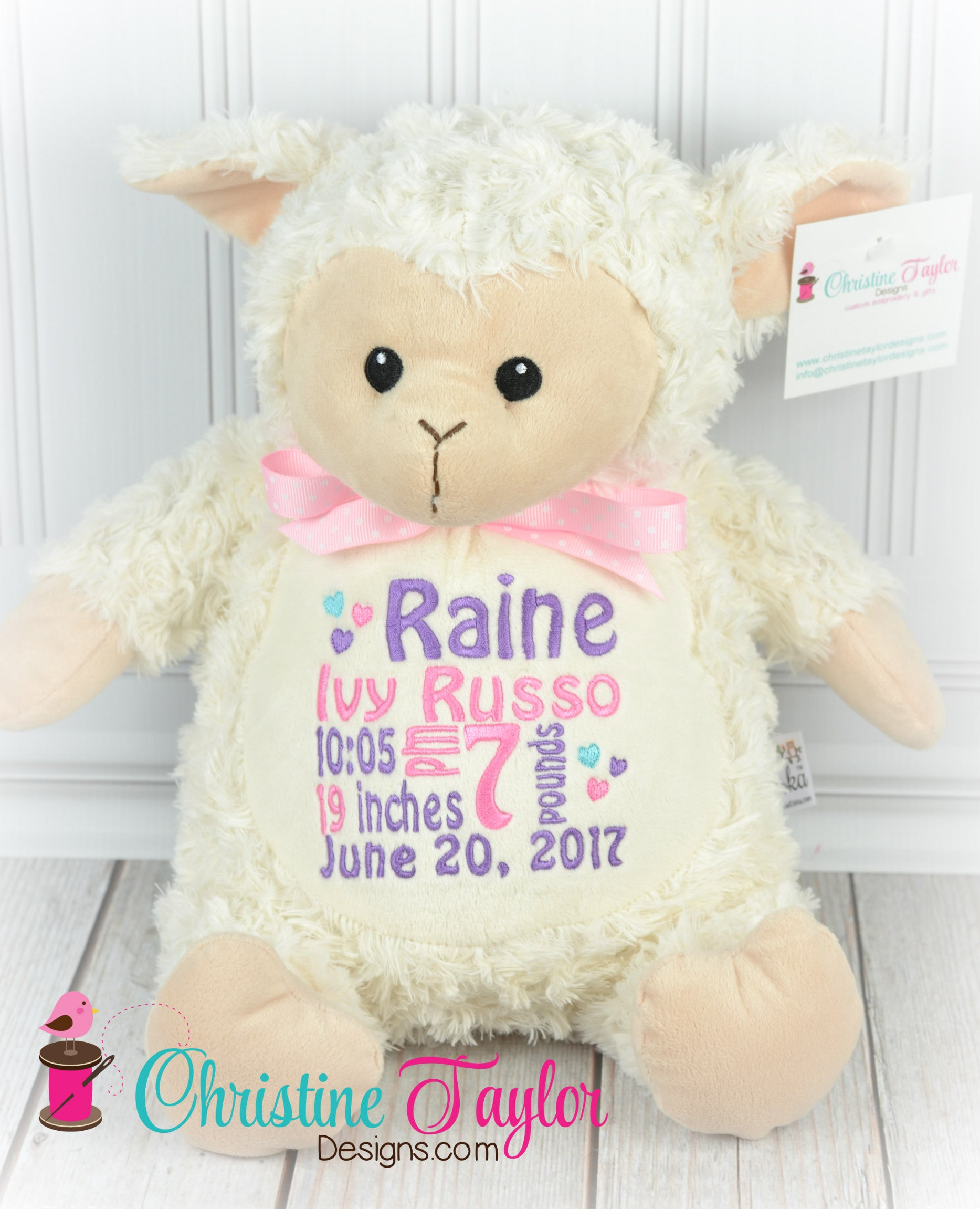 NEW Lamb - Christine Taylor Designs