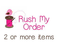 Rush My Order - 2 or more items in your order. - Christine Taylor Designs