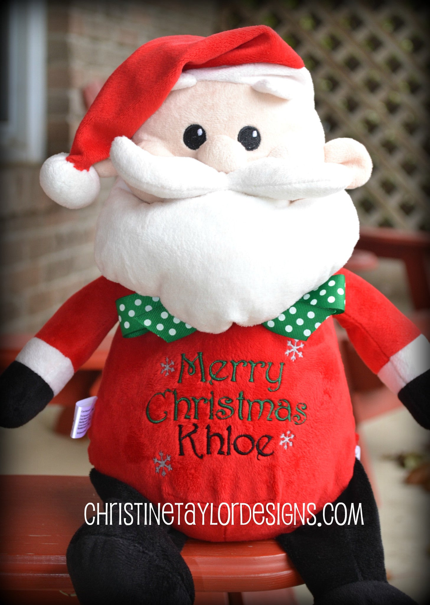 Holiday Santa - Christine Taylor Designs