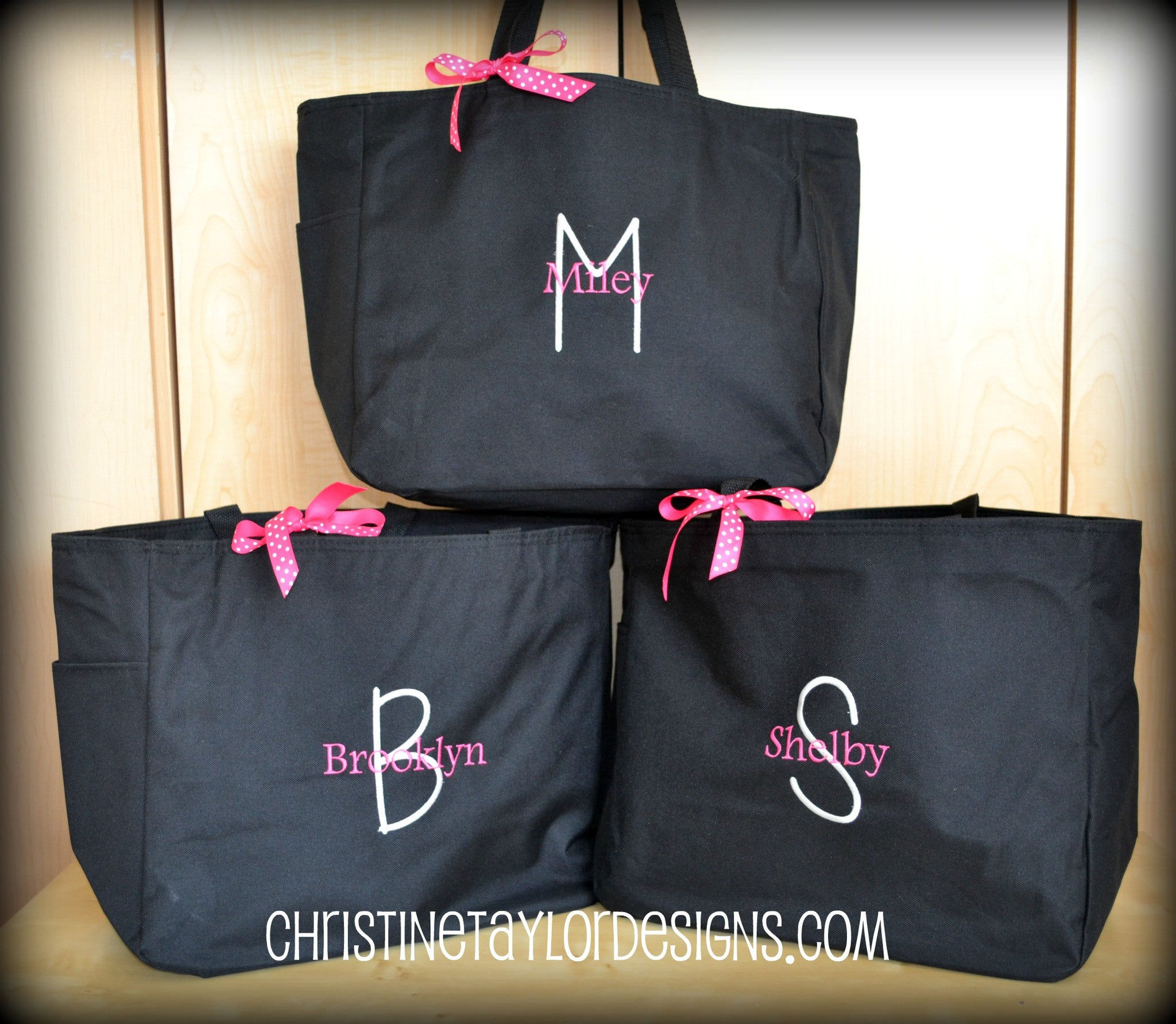 Personalized Tote Bags - Christine Taylor Designs