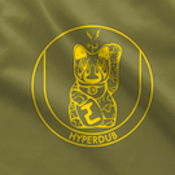 Hyperdub Army Shirt, Yellow Third Ear Cat Logo