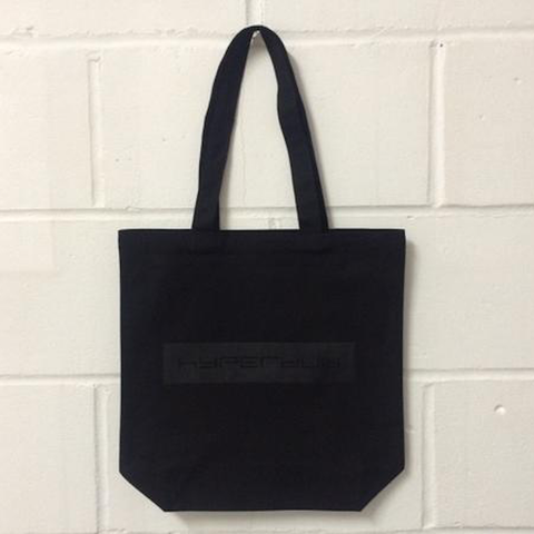 Hyperdub logo, Black Canvas Bag