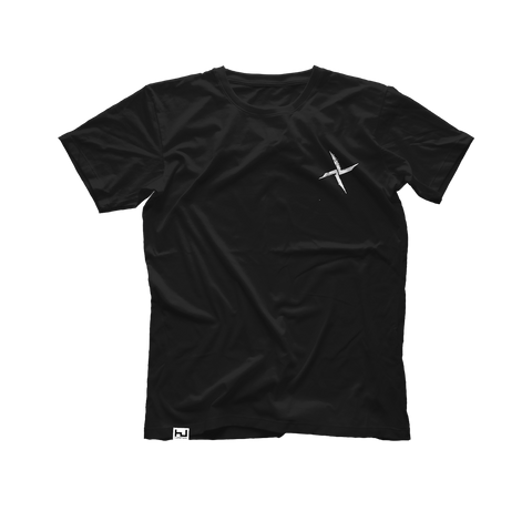 Black Burial Small Chest Logo T-Shirt