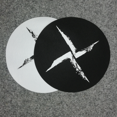 Burial Black and White Slipmats