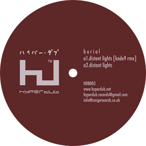 Burial, Distant Lights EP