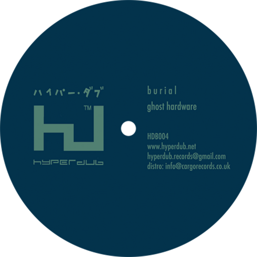 Burial, Ghost Hardware