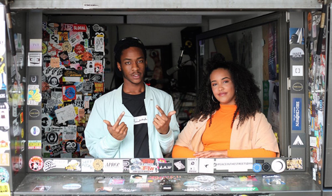 DJ Taye with Fauzia on NTS