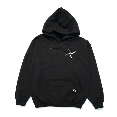 Burial, Black Hooded Top