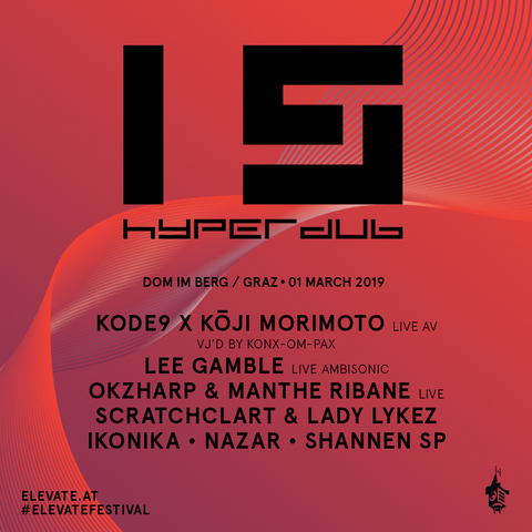 The first Hyperdub 15 event, at Elevate Festival