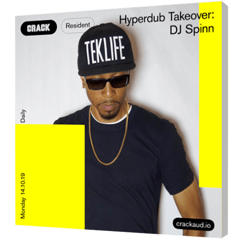 Crack Hyperdub Takeover, DJ Spinn Mix