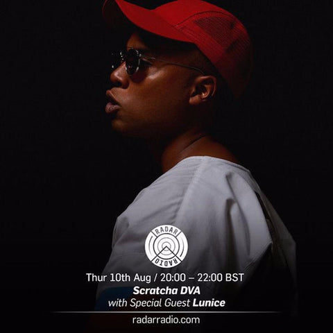 Lunice joins Scratcha DVA for his radio show.