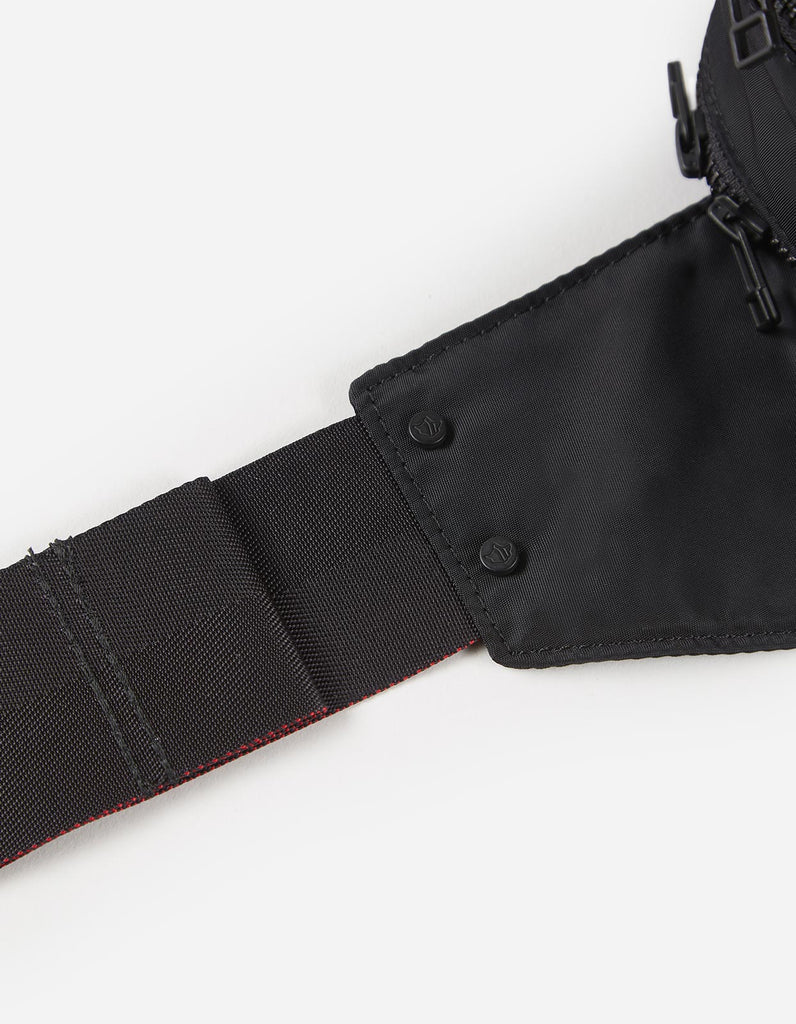 Maharishi x Hyperdub - 3rd Ear Cat - Travel Waist Bag - Black