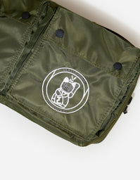 Maharishi x Hyperdub - 3rd Ear Cat - Travel Waist Bag - Olive