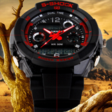 Men's Quartz Digital Watch Men Sports Watches Relogio Masculino SKMEI S Shock Relojes LED Military Waterproof Wristwatches