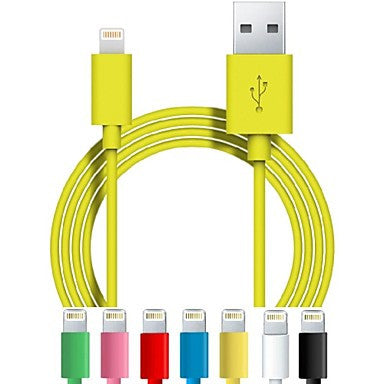 DSB® USB A to 8-Pin Charging Sync Data Cable for iPhone 5/5S/5C/6 iPad mini/Air/Retina (3.3 Feet/1.0 Meter)