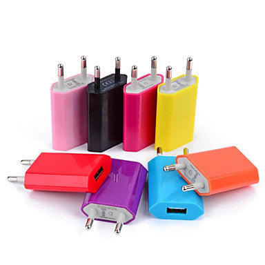 Mini USB EU Plug AC Power Adapter Wall Charger for iPhone 6 iPhone 6 Plus
