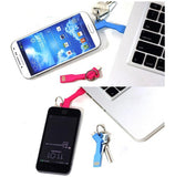 Convenient Fashion Key Shape 8-pin to USB Cable for iPhone 6/6S/5/5S