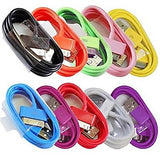 Colorful EU Plug AC Wall Charger with 100cm 30 Pin Cable
