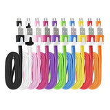 Flat Noodle Micro USB Charge Cable