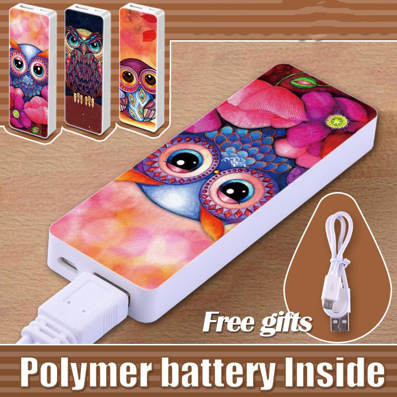Portable Power Bank 3800mah Polymer USB External Power Supply