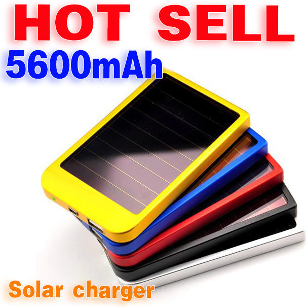 Solar Charger Power Bank 5600 mAh New Portable Charger Solar Battery External Battery Charger Power bank