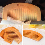 Popular natural health care comb anti-static comb comb Peach WOOD hair brush hairbrush hair comb