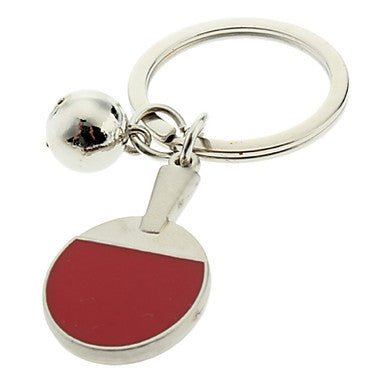 Table Tennis Style Keychain