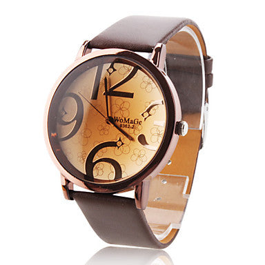 Women's Watch Fashionable Big Numbers Dial