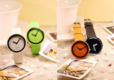 Women's Watch Minimalism Round Dial Candy Color Fashion watch