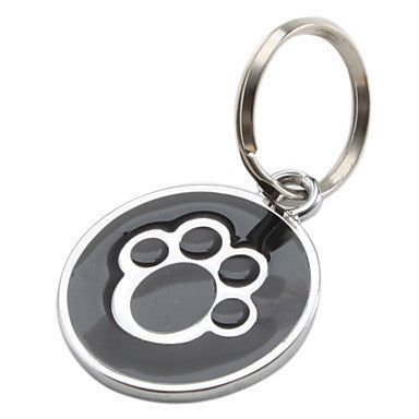 Dog Paw Style Dog Name Dog Tag Pets Identity card For Pets Dogs Cats