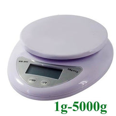 5000g/1g 5kg Food Diet Postal Kitchen Digital Scale