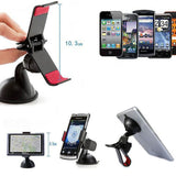 New Arrival Universal Stick Car Windshield Mount Stand Holder For iPhone Mobile Phone GPS