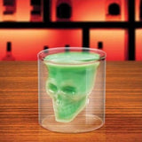 Cool Crystal Skull Head Shaped Shot Glass