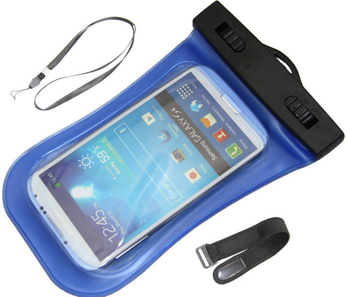 PVC Waterproof Diving Bag For Mobile Phones Underwater Pouch Case For iphone 6/6 plus/5/5s For samsung galaxy s3/s4