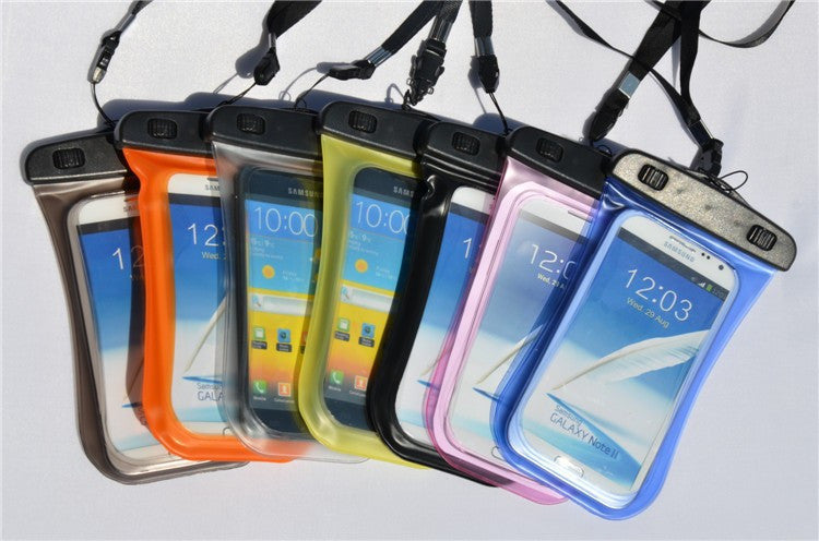 "PVC Waterproof bag Underwater Pouch Case For iphone 6 4.7"" For Samsung galaxy note 4 3 2 S5 S4 S3 phone Cover"