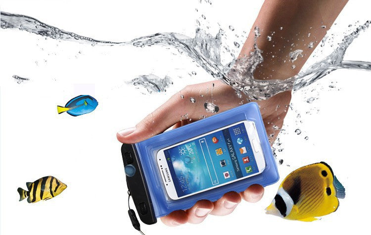Waterproof Case 4.8 Inch For iPhone Water proof Bag 5.7 Inch for Samsung galaxy Note Underwater Pouch PVC cover Diving Case