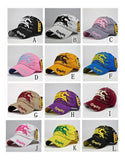 Cotton Mens Hat letter Bat unisex Women hats baseball cap casual caps
