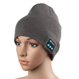 Warm Hat Wireless Bluetooth Smart Cap Headset Headphone Speaker Mic