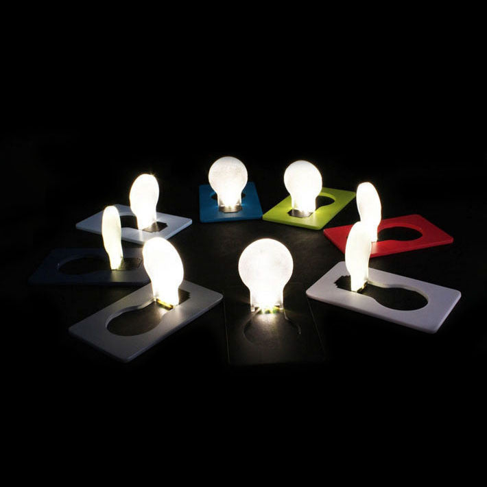 Mini led creditcard light Portable Pocket Lamp Pocket Led Card Light-4PCS
