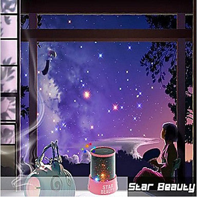 Starry Night Sky Projector Colorful LED Night Light