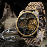 Fashion Oulm Brand Men Full Steel Watch Mens Sport Quartz Watches Antique Male Casual Clock Military Watch