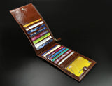 Hot unisex genuine leather men wallets clutch Selling Fashion money clip men wallets and purses