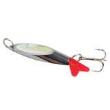 50mm Beveling Chamfer Paillette Fishing Lure Stosh Crank Bait Treble Hook