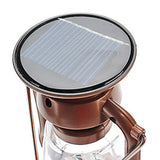 T91 Camping 1-Mode 7-LED Latern Light (Solar/Dynamo-Powered)